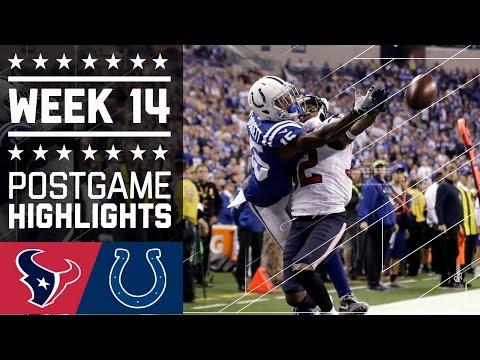 Texans Vs Colts Nfl Week 14 Game Highlights
