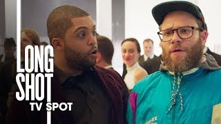 "Long Shot (2019 Movie) Official TV Spot ""Dope"" – Seth Rogen, Charlize Theron"
