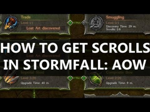 Stormfall Age Of War How to Get Scrolls