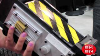 Ghostbusters Movie Ghost Trap Replica Demo from San Diego Comic-Con 2011