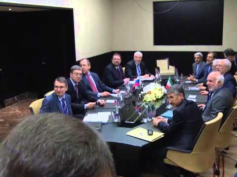 Sergey Lavrov and Mohammad Javad Zarif Khonsari | Переговоры С.Лаврова и М.Дж.Зарифа