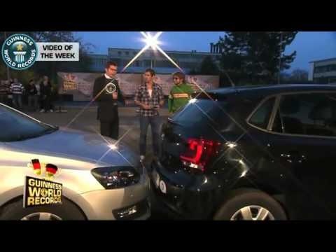ألماني يدخل موسوعة «غينيس» بسبب طريقة ركن سيارته