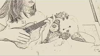 Chúc BÉ ngủ ngon!  #chucbengungon #forbeginners #ukulelefingerstyle