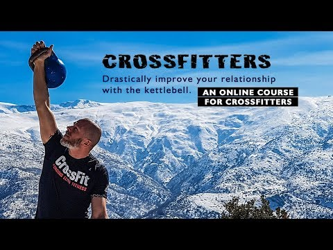 Crossfitters—drastically improve your relationship with the kettlebell