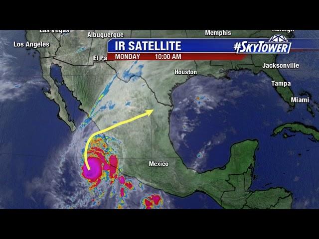 Hurricane Willa update  tropical weather forecast October 22, 2018