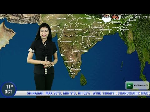11/10/2014 Skymet Weather Report For India