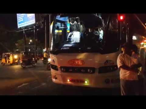Kaleswari Travels Multi Axle Volvo Bus,Andhra Pradesh,INDIA