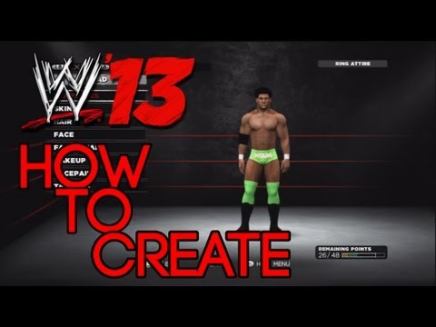 WWE '13 - How To Make Darren Young (Tutorial) - Prime Time Players Costume