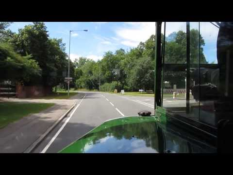 Tuneful London Transport AEC Regent III RT1700 (KYY 527) bus ride on route 339