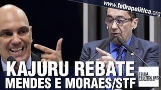 URGENTE: Kajuru retruca Gilmar Mendes e Moraes/STF sobre inquérito, censura e 'Lava Toga'