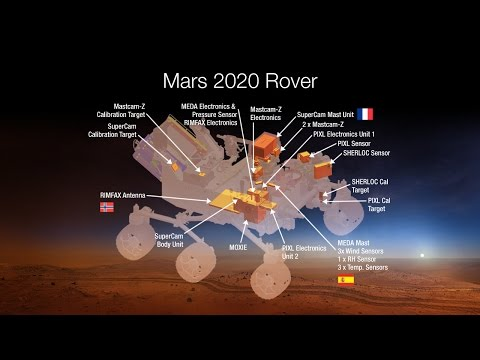 NASA's Mars 2020 Rover Payload includes these 7 amazing instruments.