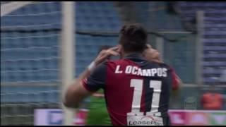 Il gol di Ocampos - Genoa - Udinese - 1-1 - Giornata 12 - Serie A TIM 2016/17