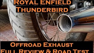 Royal Enfield Offroad Silencer Thunderbird | Road Test & Full Review |