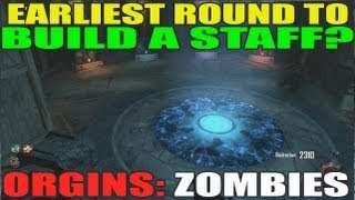 Origins: What Is The Earliest Round To Build A Staff? Which Staff? (Round 5?)