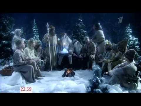 Оливье-шоу.Новогодняя ночь 2012 на Первом