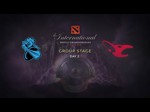 Mouz -vs- NewBee, The International 4, Group Stage, Day 2