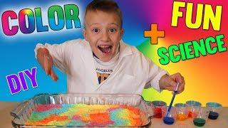 Best Magic Rainbow Art Project Yet!!