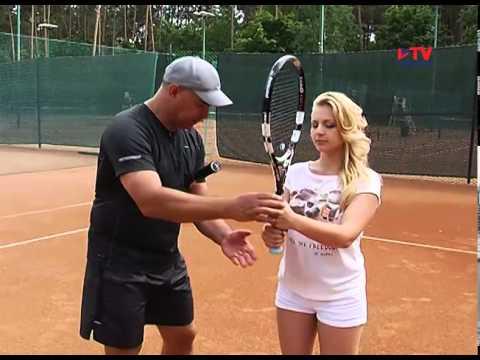 Учимся играть в большой теннис