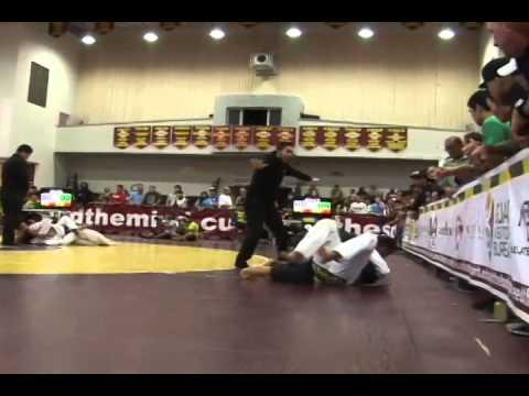 Brazilian Jui Jitsu fans pack the Phoenix Center for The Marianas Open...