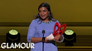 Stephen Colbert and Honoree Mindy Kaling Make a Hilarious Duo at Glamour Women of the Year Awards
