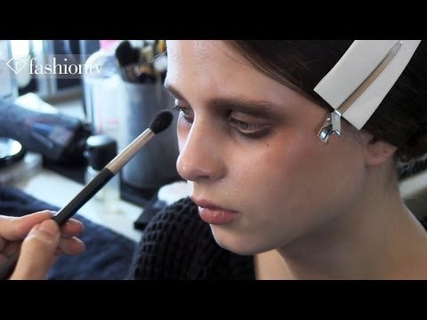 Roksanda Ilincic Fall/Winter 2013-14 BACKSTAGE | London Fashion Week LFW | FashionTV