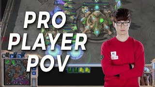 A game from a Pro Player's Point of View - Zest vs Scarlett - StarCraft 2