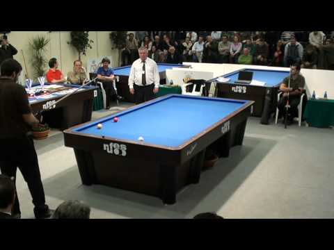 Final Campeonato España billar a tres bandas Paiporta 2011