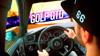 VW GOLF 7 GTD ABT SOUND CONTROL!
