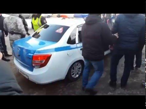 Задержание в Петропавловске