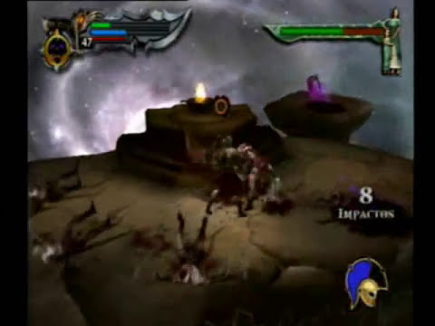 ps2 god of war 1 modo god dios Boss Ares final estrategia