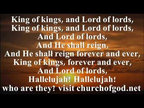Hallelujah Chorus For the Lord God Omnipotent reigneth