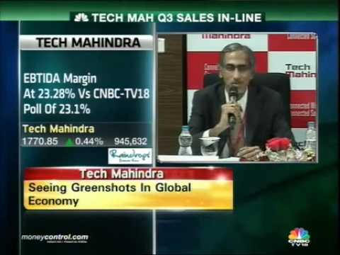 Tech Mahindra Q3 net profit up 38% on exceptional gain -  Part 3