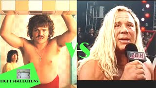 WWE 2K18 AK Movie TV Universe NACHO LIBRE VS RANDY THE RAM ROBINSON