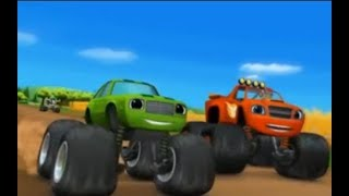 Blaze and The Monster Machines - Pickle Power - Pickle and Blaze Race Together