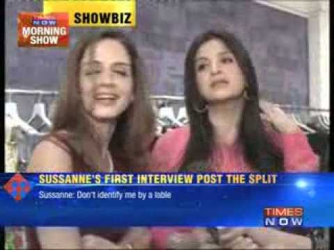 Sussane's first interview Post her Split with Hrithik Roshan