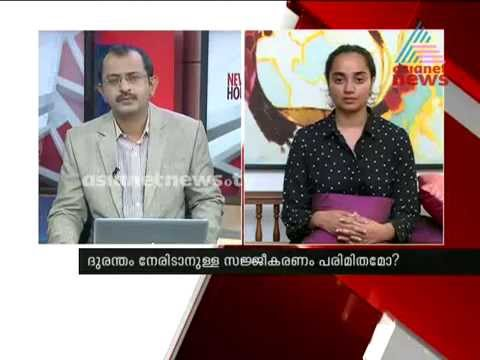 Apoorva Bose(Actress) shares Kashmir flood experience in Asianet News Hour