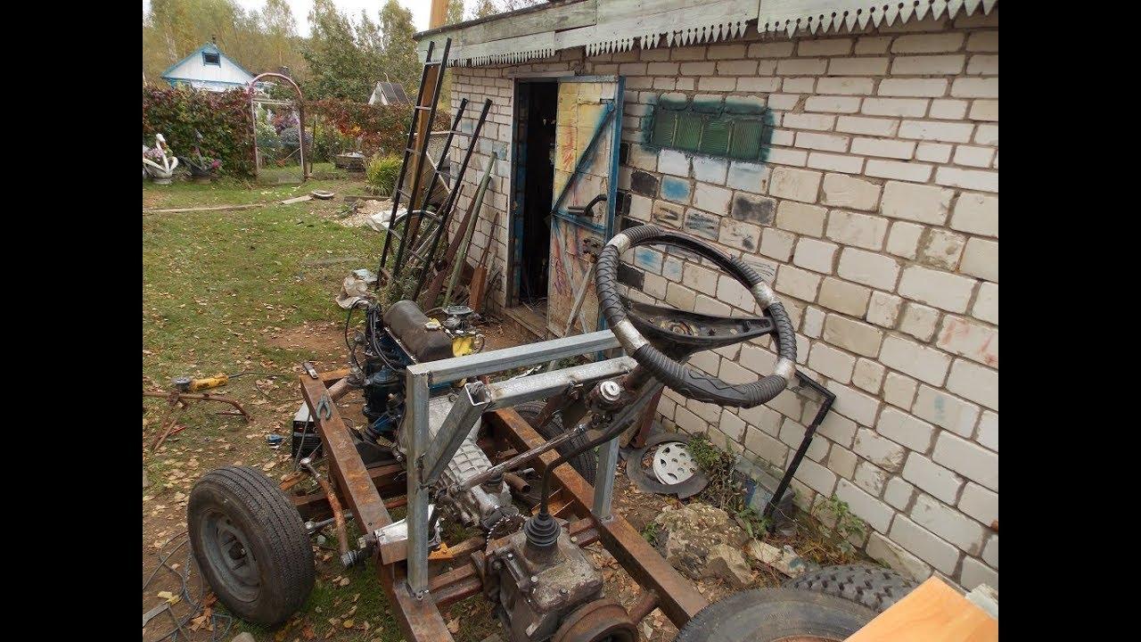 Как сделать свой трактор