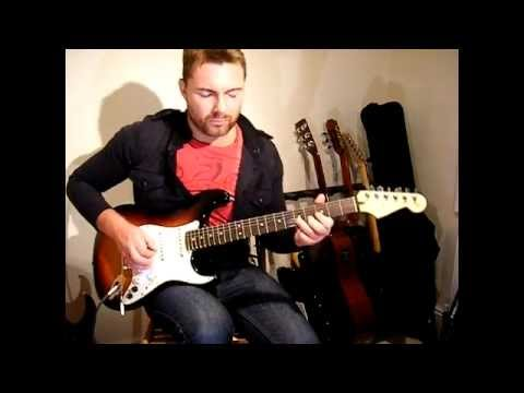 Fender G5 VG strat & BOSS GT100 Blues solo -Lee Wrathe