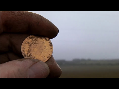 First Dig of 2013 and Gold pops up.