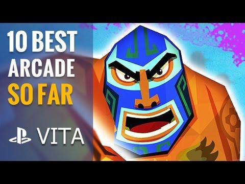 Top 10 Best PS Vita Arcade Games So Far