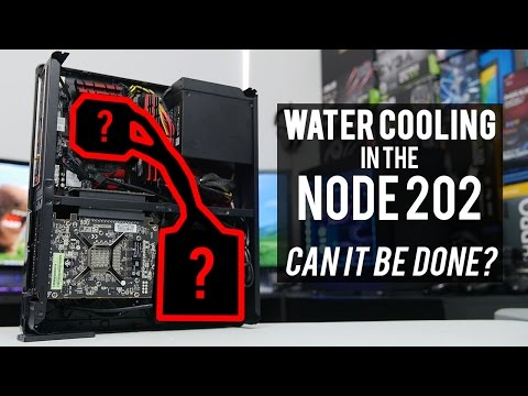 Challenge Accepted: Liquid Cooling in the Fractal Node 202!?