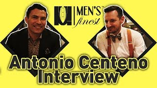 Antonio Centeno/Real Men Real Style Intreview at Menfluential 2018 - Men's Finest