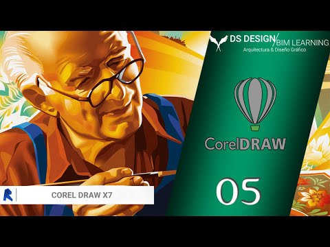Corel Draw x7 Básico en Español | Cap.: 5 | Herramienta BEZIER