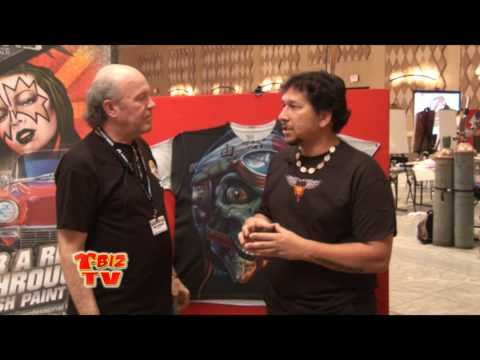 T-BizTV Scott Fresener interviews artist Eddie Davis