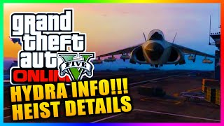GTA 5 Heists - Hydra Jet Only Available In Heist Missions? Aircraft Carrier Interior & MORE! (GTA V)
