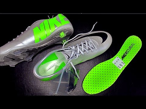 Nike Mercurial Vapor IX 9 Platinum Leather Finish Unboxing by f247