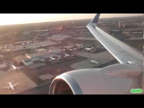Intense ROAR!! United 737-800 Stunning Takeoff from Newark! SPEAKERS ON MAX!!