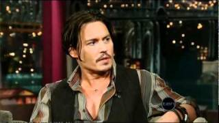 Johnny Depp (Letterman)