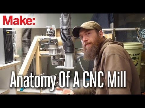 Anatomy of a CNC Mill