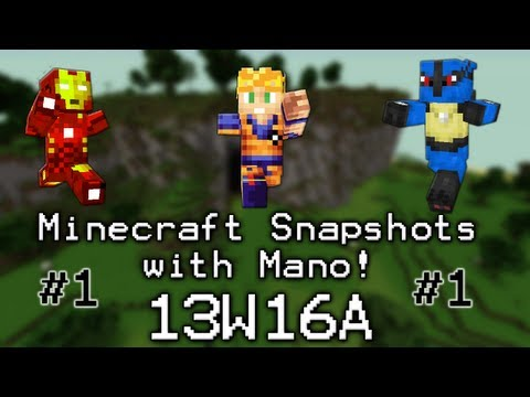 Minecraft with Mano! The Snapshots! Ep. 1: Establishing the Series